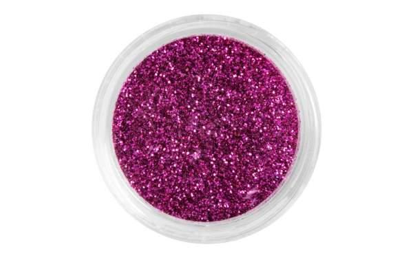 Nailart Glitterpuder Pinky Red
