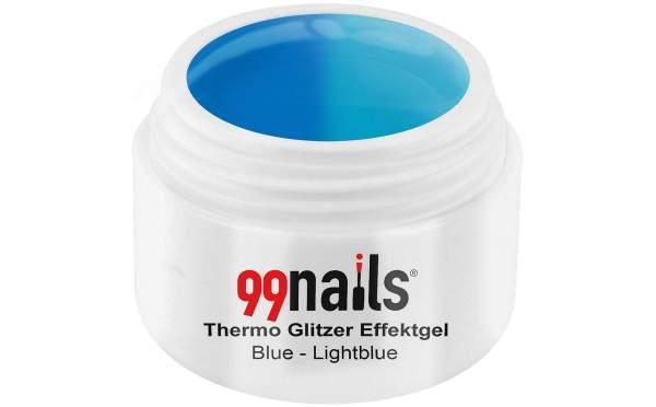 Thermo Effektgel - Blue-Lightblue 5ml
