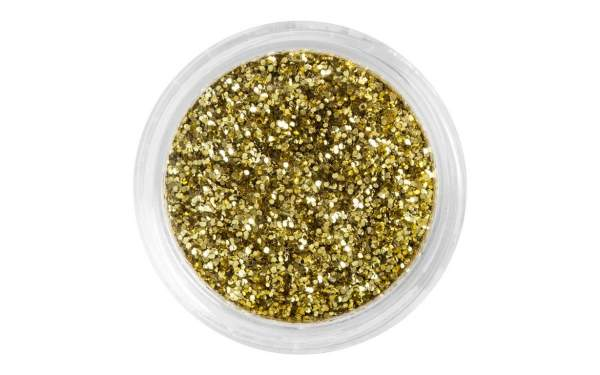 Nailart Glitterpuder Light Gold