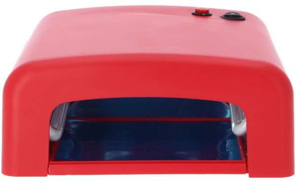 UV Lichthärtungsgerät Lampe eckig Rot