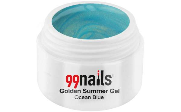 Golden Summer Gel - Ocean Blue 5ml