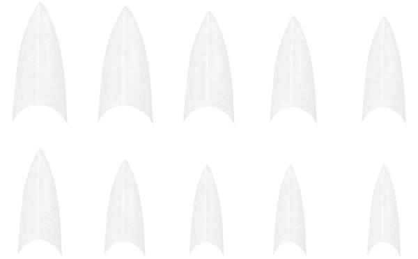 Stiletto NagelTips Weiß-Nachfüllbeutel 500 Stück