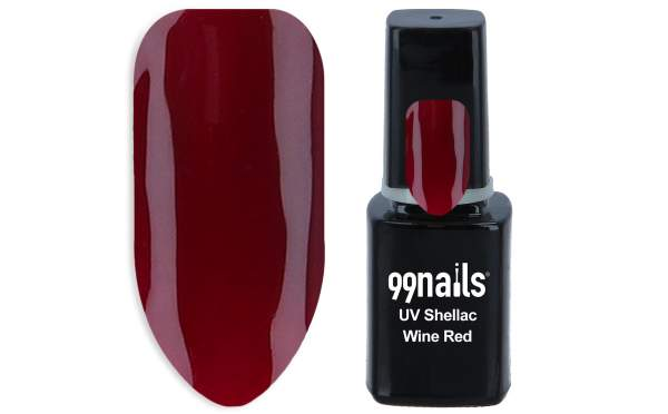 UV Shellac - Wine Red 12ml