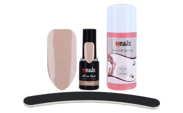 All in One UV Gellack Set - Nude