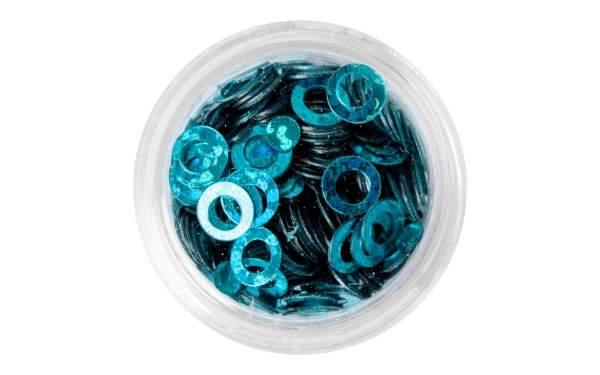 Nailart Ringe Blue
