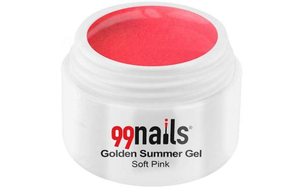 Golden Summer Gel - Soft Pink 5ml