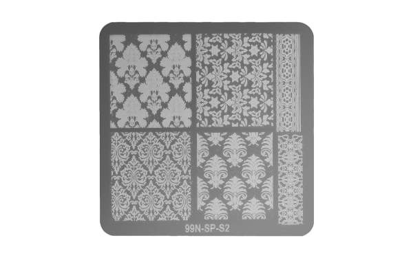 Stamping Plate Square - Harmony