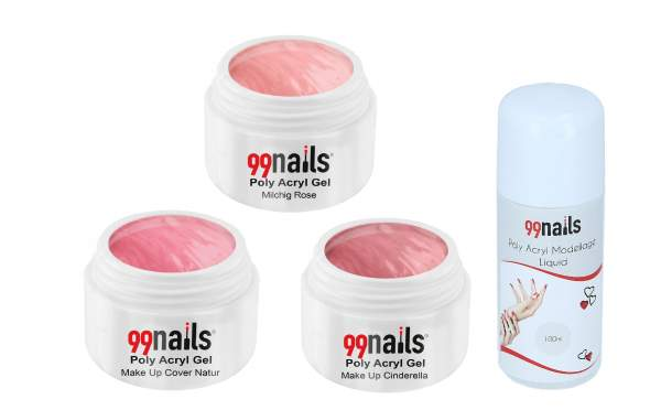 Acryl Gel Set - Rose