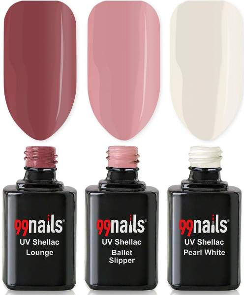 UV Shellac Set - Be Natural 12ml