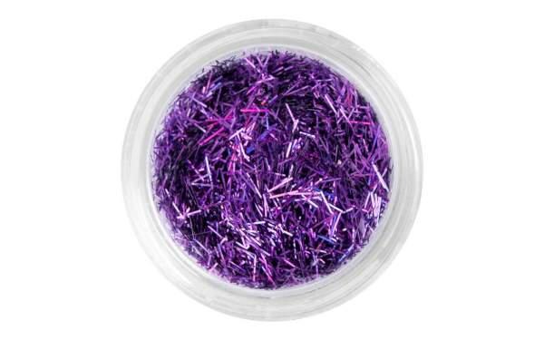 Nailart Glitter Stripes Purple