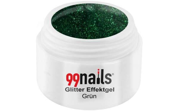 Glitter Effektgel - Grün 5ml