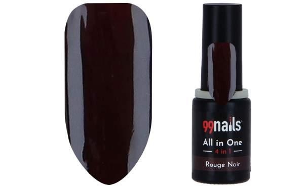 All in One - 4 IN 1 Gellack Rouge Noir