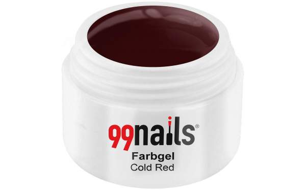 Farbgel - Cold Red 5ml