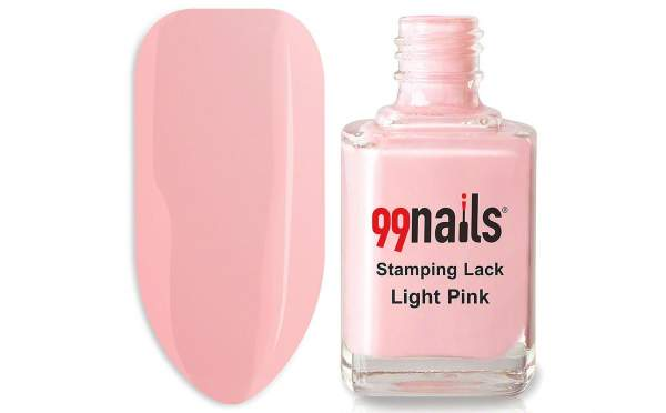 Stamping Lack - Light Pink 12ml