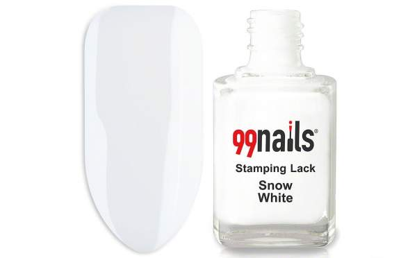 Stamping Lack - Snow White 12ml