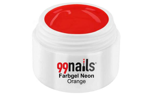 Farbgel Neon - Orange 5ml