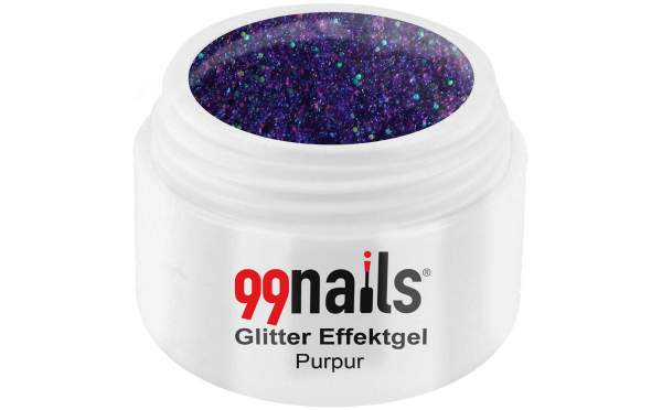 Glitter Effektgel - PurPur 5ml
