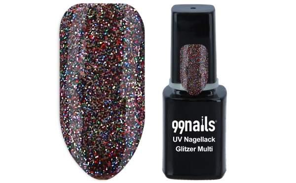 UV Nagellack - Glitzer Multi 12ml