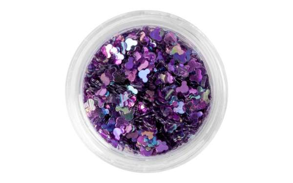 Nailart Hologramm Mouse Purple