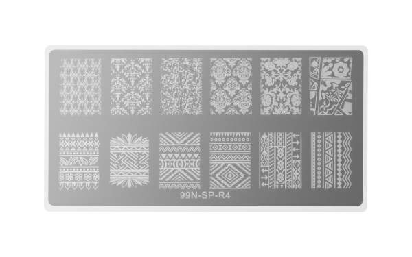 Stamping Plate Rectangle - Mystery