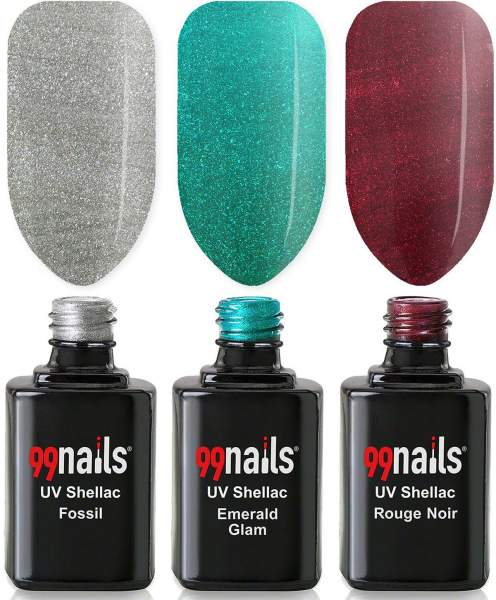 UV Shellac Set - Metallic Look 12ml