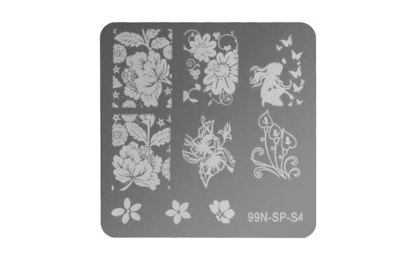 Stamping Plate Square - Perfection