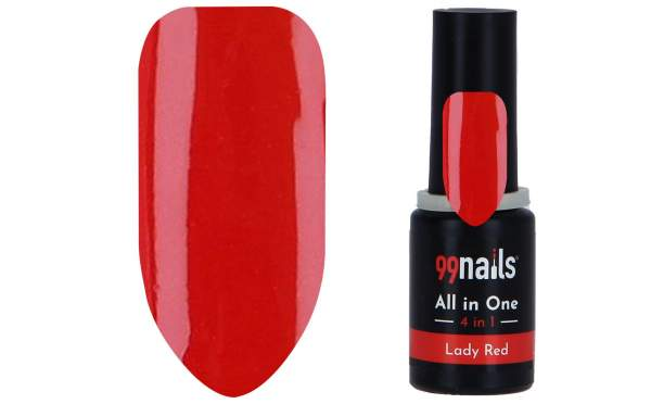 All in One - 4 IN 1 Gellack Lady Red