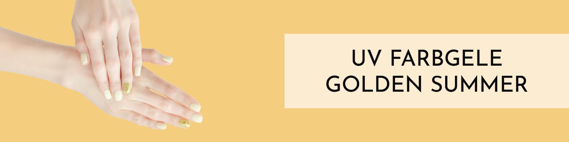 Gold Effekt Gele