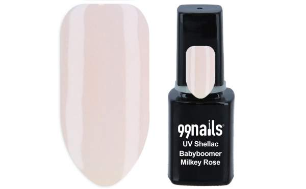 UV Shellac - Babyboomer Milky Rose 12ml