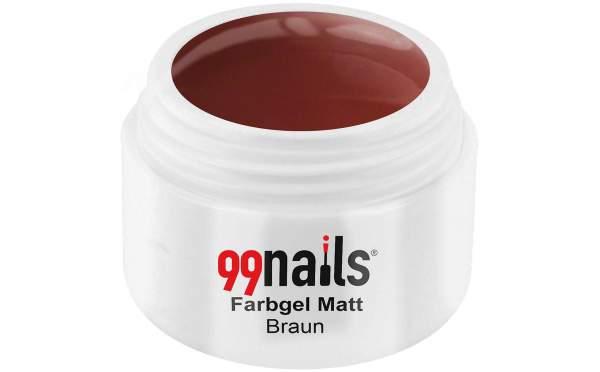 Farbgel Matt - Braun 5ml