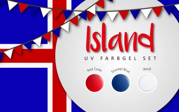 UV Farbgel Set - Island 5ml