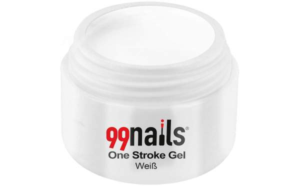 One Stroke Gel - Weiß 5ml