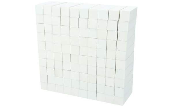 100x Schleifblock / Buffer Weiß Körnung 180
