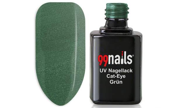UV Nagellack - Cat-Eye - Grün 12ml