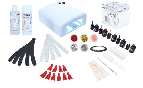 UV Nagellack Starter Set - UV Basic