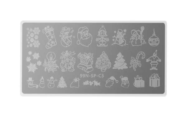 Stamping Plate Special - Mixed Christmas