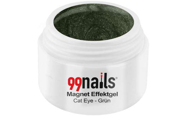 Magnet Effektgel - Cat-Eye - Grün 5ml
