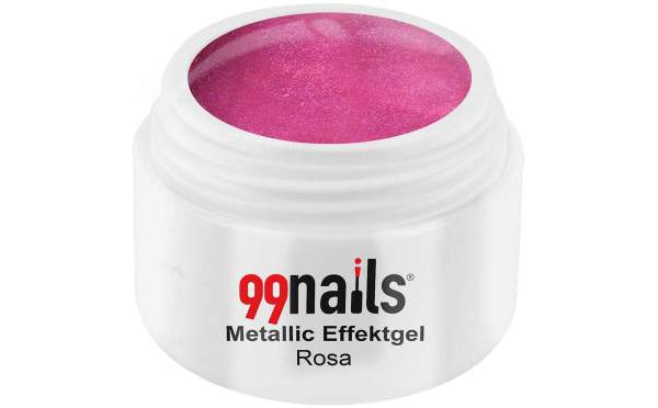 Metallic Effektgel - Rosa 5ml