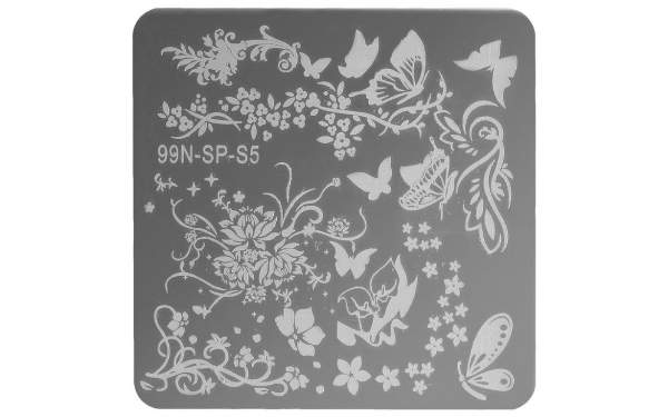 Stamping Plate Square - Paradise