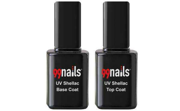 Shellac Top Coat + Base Coat Set