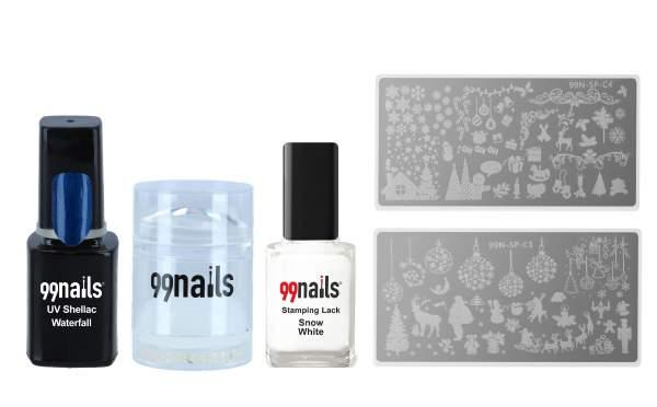 Christmas Nails - Stamping