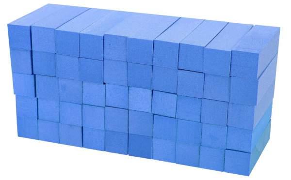 50x Schleifblock / Buffer Blau