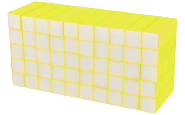 50x Schleifblock / Buffer Neon Gelb