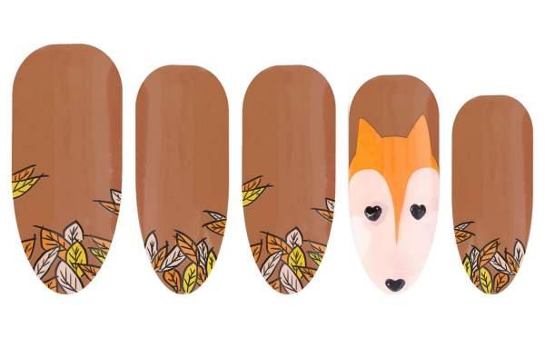 Herbst Set Fuchs