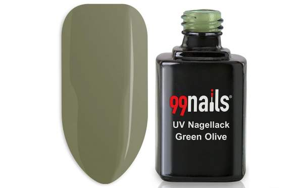UV Nagellack - Green Olive 12ml