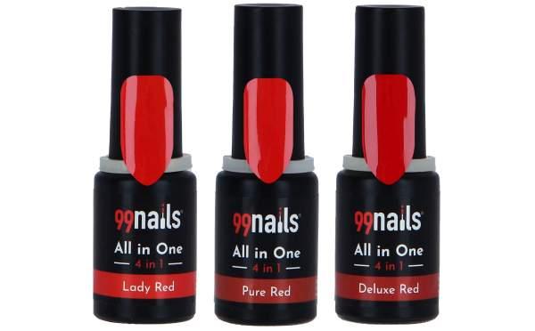 All in One Gellack Set -Red Love
