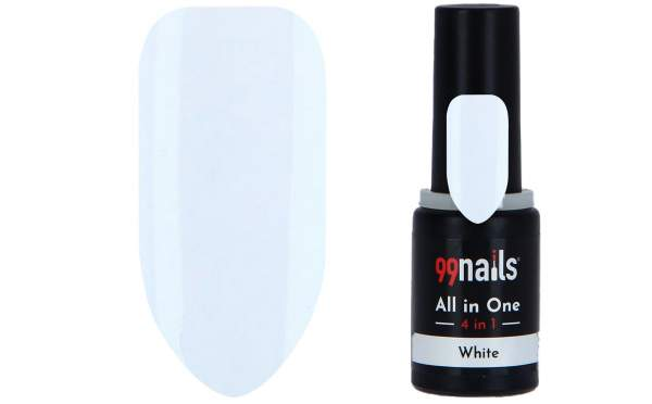 All in One - 4 IN 1 Gellack White