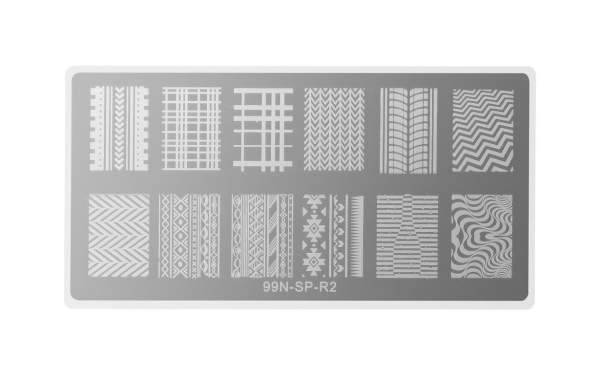 Stamping Plate Rectangle - Highway