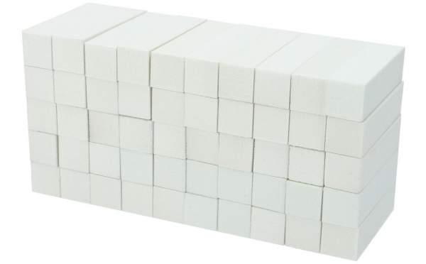 50x Schleifblock / Buffer Weiß Körnung 180