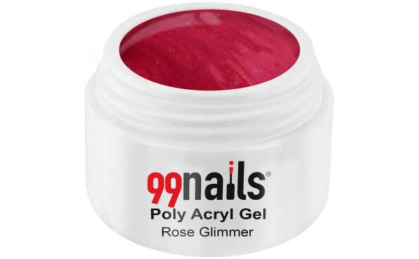 Poly Acryl Gel - Rose Glimmer 15ml